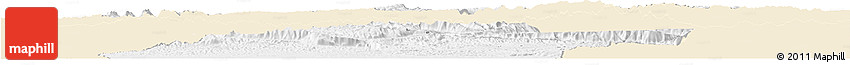 Classic Style Horizon Map of Jowzjan, single color outside