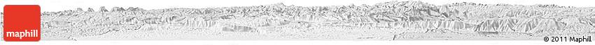 Silver Style Horizon Map of Jowzjan