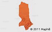 Political Map of Jowzjan, cropped outside