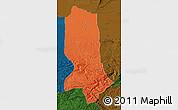 Political Map of Jowzjan, darken