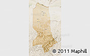 Satellite Map of Jowzjan, lighten