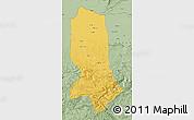 Savanna Style Map of Jowzjan