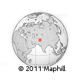 Outline Map of Kabul