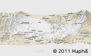 Classic Style Panoramic Map of Kabul
