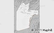 Gray Map of Kandahar