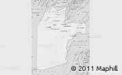 Silver Style Map of Kandahar