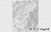 Silver Style 3D Map of Kapisa