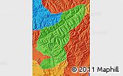 Political Map of Kapisa