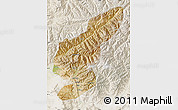 Satellite Map of Kapisa, lighten