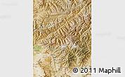 Satellite Map of Kapisa