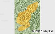 Savanna Style Map of Kapisa