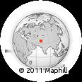Outline Map of Kapisa