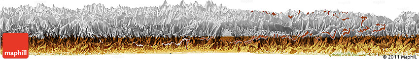 Physical Horizon Map of Konar