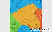 Political Map of Konduz