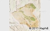 Satellite Map of Konduz, lighten