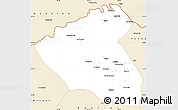 Classic Style Simple Map of Konduz