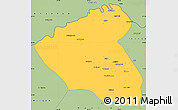 Savanna Style Simple Map of Konduz