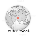 Outline Map of Laghman