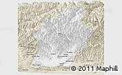 Classic Style Panoramic Map of Laghman