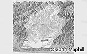 Gray Panoramic Map of Laghman