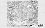 Silver Style Panoramic Map of Laghman