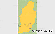 Savanna Style Simple Map of Laghman