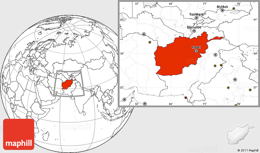 Blank location map of afghanistan 2d gumiabroncs Images