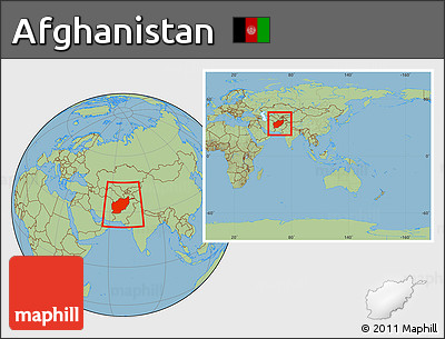Free Savanna Style Location Map Of Afghanistan Within The Entire - What continent is afghanistan in