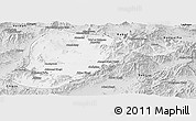 Silver Style Panoramic Map of Lowgar