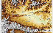 Physical Map of Nangarha