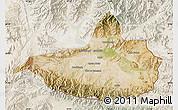 Satellite Map of Nangarha, lighten