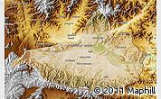 Satellite Map of Nangarha, physical outside