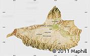 Satellite Map of Nangarha, single color outside