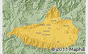 Savanna Style Map of Nangarha