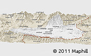 Classic Style Panoramic Map of Nangarha