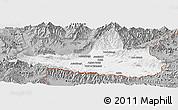 Gray Panoramic Map of Nangarha
