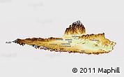 Physical Panoramic Map of Nangarha, cropped outside