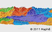 Political Panoramic Map of Nangarha