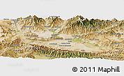Satellite Panoramic Map of Nangarha