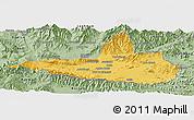 Savanna Style Panoramic Map of Nangarha