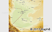 Physical 3D Map of Nimruz