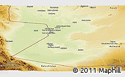 Physical Panoramic Map of Nimruz