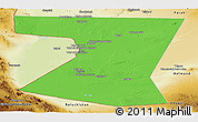 Political Panoramic Map of Nimruz, physical outside