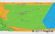 Political Panoramic Map of Nimruz