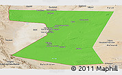 Political Panoramic Map of Nimruz, satellite outside