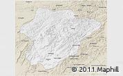 Classic Style 3D Map of Oruzgan