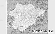 Gray 3D Map of Oruzgan