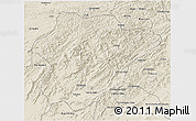 Shaded Relief 3D Map of Oruzgan
