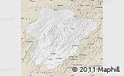 Classic Style Map of Oruzgan