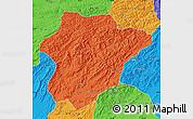Political Map of Oruzgan